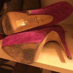 Dolce Vita Shoes - Gently loved Dolce Vita suede platform heels